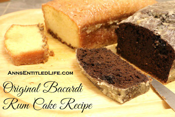 Original Bacardi Rum Cake Recipe