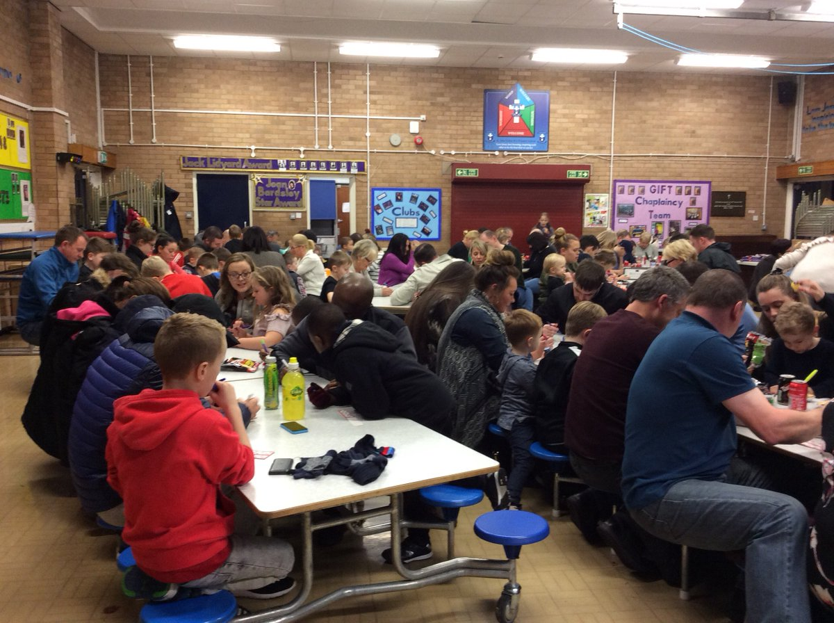 Fantastic night at chocolate bingo. Many thanks to parents and families.
