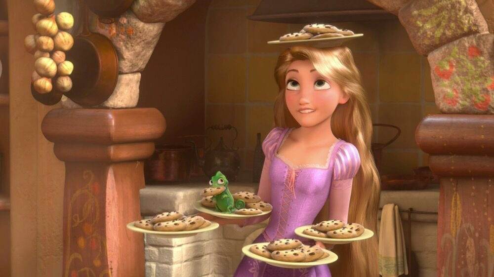 This Sunday is extra sweet 🍪🍪🍪 #Tangled #NationalCookieDay