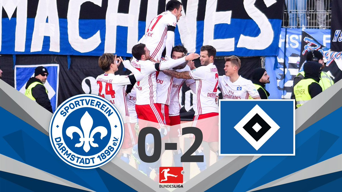FULL-TIME! @HSV get their first #Bundesliga win of the season and move off the bottom of the table! #D98HSV