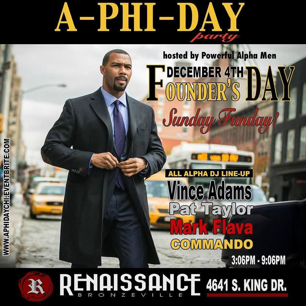 Celebrating A-Phi-A Founder's Day with an all Alpha DJ Lineup this afternoon!! See you in … https://t.co/jLzk5ISEbz https://t.co/vAyCRqV6fO