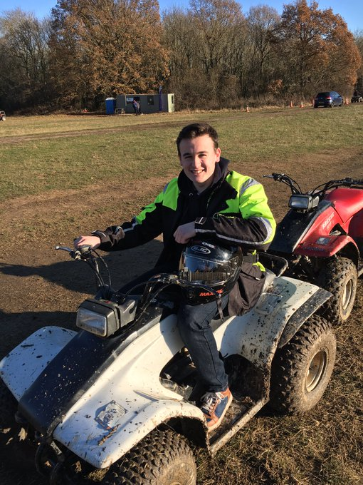 RT @ReeceButtery: Went quad biking at @Hopfarm today, I had a great time it's amazing https://t.co/kh7w0zlyFV
