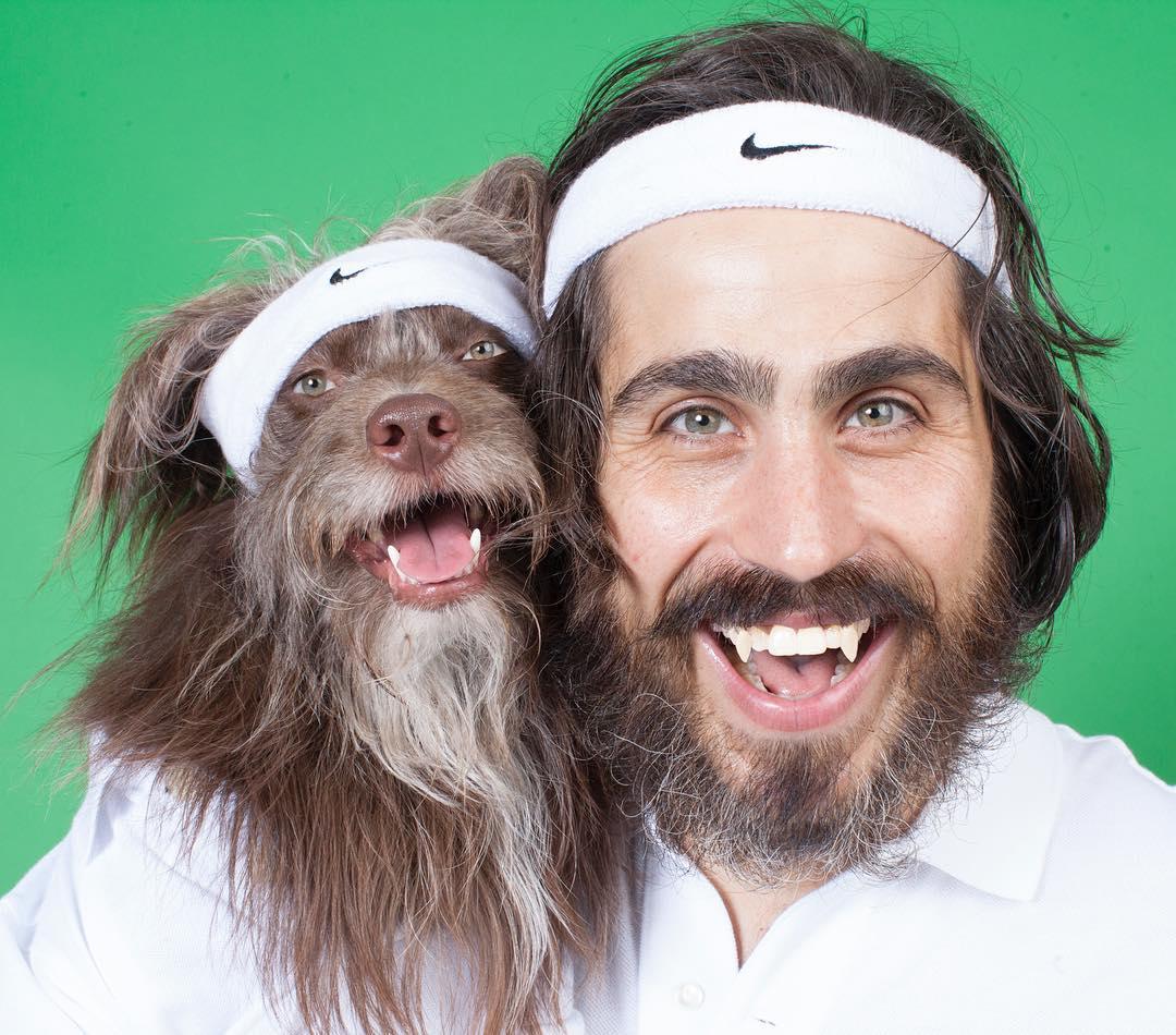 Прикольные открытки, смешные картинки людей и собака