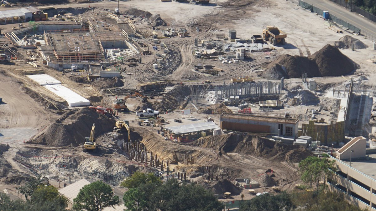 Toy Story Land construction. Photo: themeparx.com