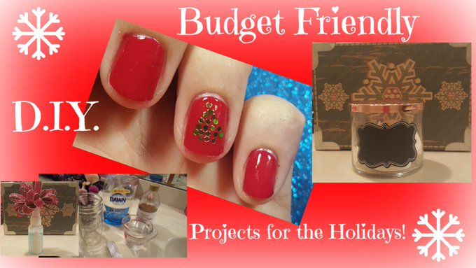 Budget Friendly Holiday DIY Projects!
