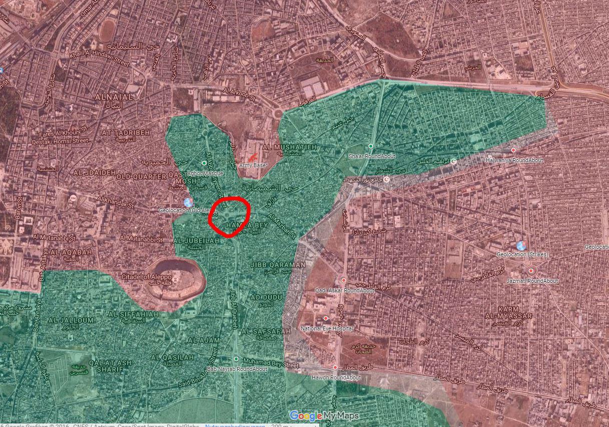 Штурм Алеппо. 04.12.2016