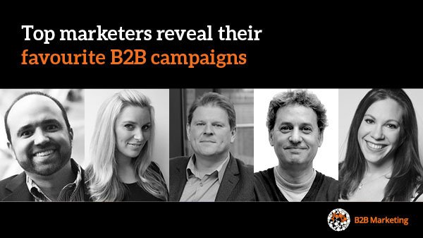 Which B2B campaigns did these leading marketers choose as their favourite? https://t.co/tYtotWjtcq https://t.co/Y1xDzUZm6Y