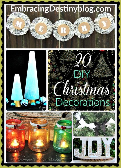 20 Creative DIY Christmas Decorations