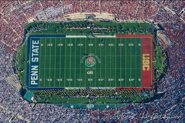 It's official! #USC against Penn State in the Rose Bowl!