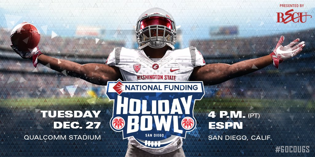 SAN DIEGO HERE WE COME!! Cougs selected for the @HolidayBowlGame!! #GoCougs https://t.co/SXFujxlDaQ