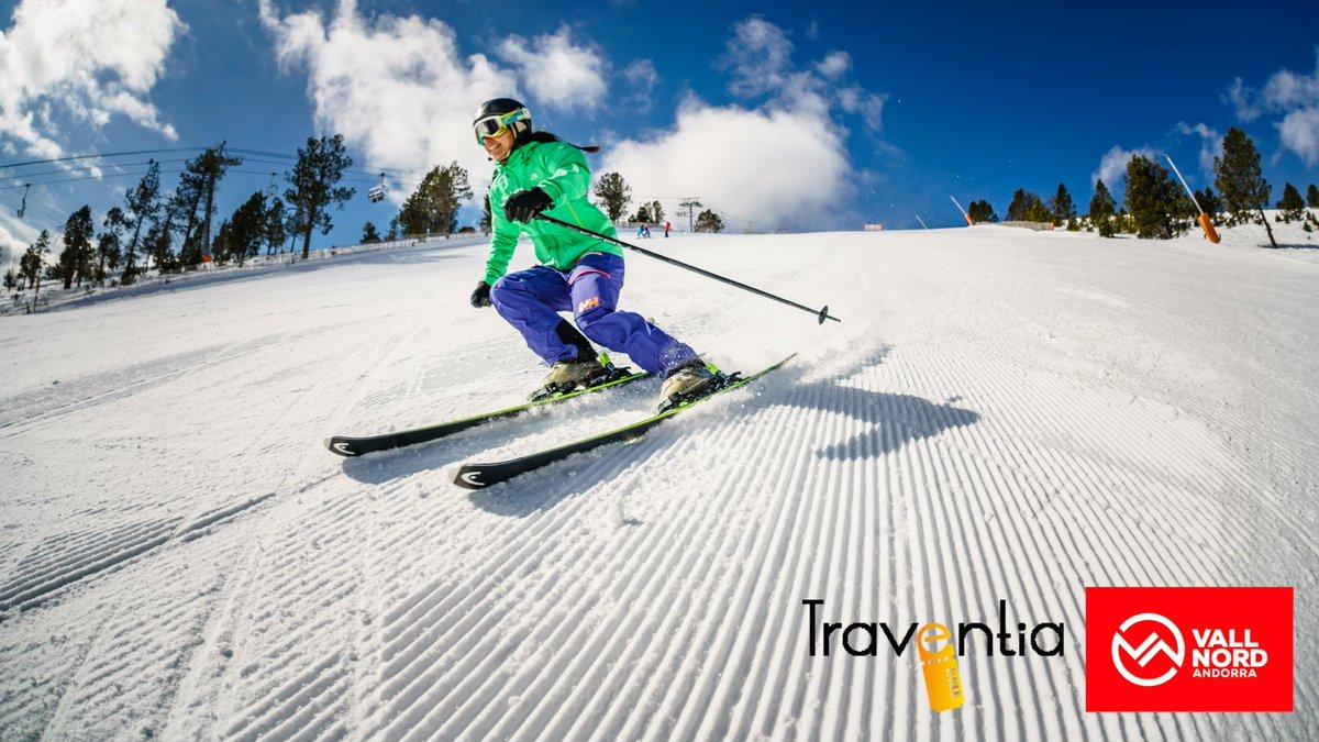 Arrancamos la semana regalando dos días de esquí en Andorra (@Vallnord) cortesía de @Traventia, Entra y participa! https://t.co/7S3mAvnlZn