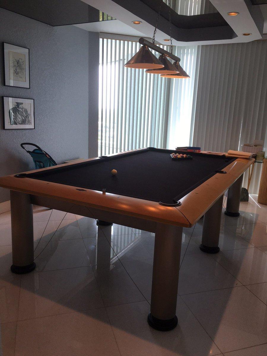 Bost Billiards BostBilliards Twitter - Brunswick manhattan pool table