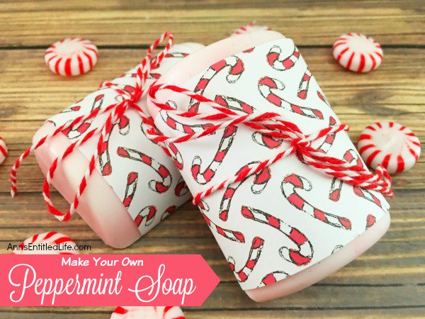 Make Your Own Peppermint Soap
