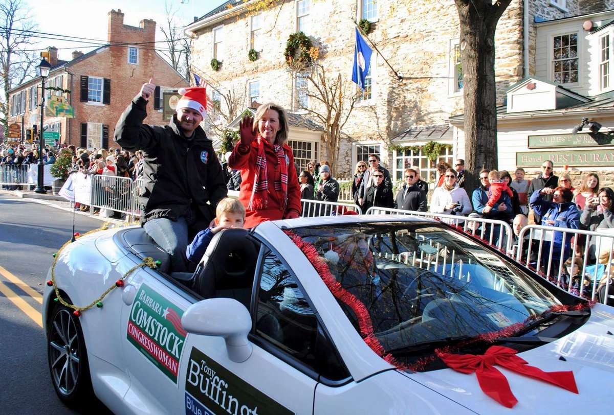 barbara comstock on twitter thousands attended christmas in middleburg festivities and the christmas in middleburg parade yesterday