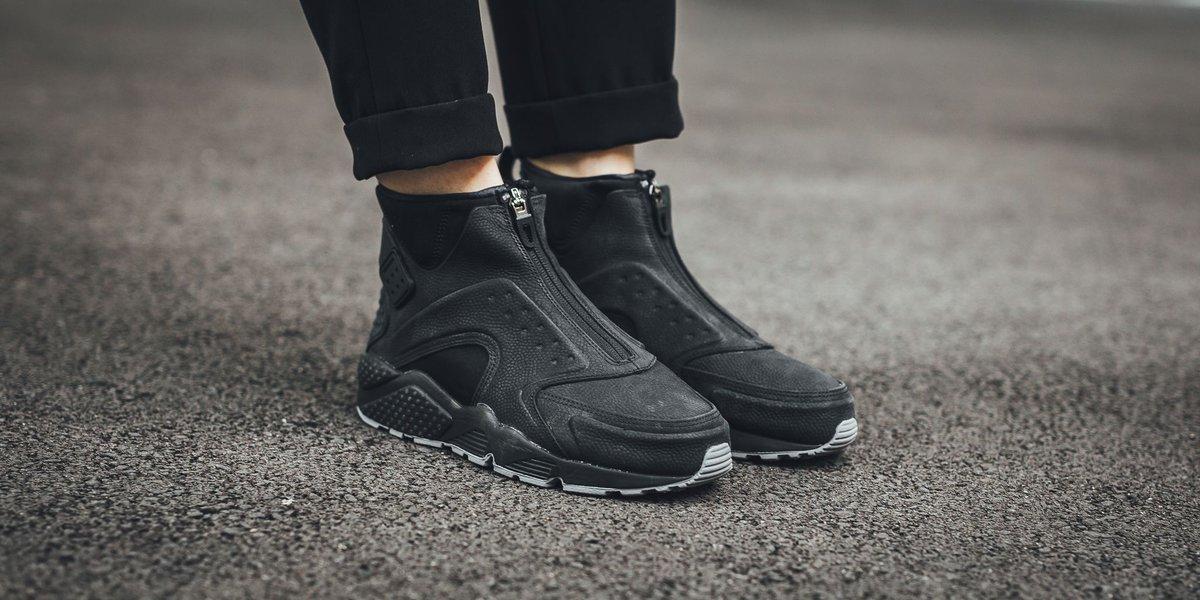 hot sales 13afa 85d37 ... Nike Wmns Air Huarache Run Mid Premium - BlackBlack-Dust SHOP HERE  httpst.