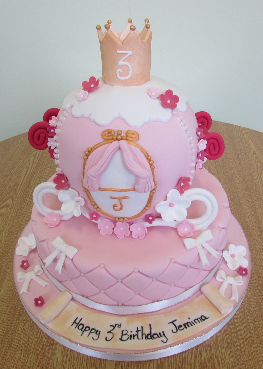 One Stop Cake Shop On Twitter Cinderella Carriage Birthday