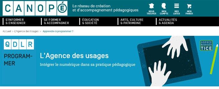 """Résultat de recherche d'images pour """"l'agence des usages canopé"""""""