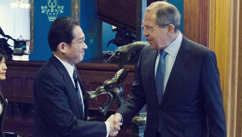 Thumbnail for Lavrov - Fumio Kishida meeting in Moscow| Встреча С.Лаврова и главы МИД Японии