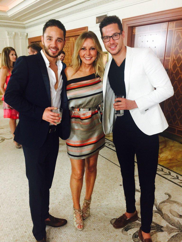 With the boys @adamthomas21 and lovely @scottyspecial x #ImACeleb https://t.co/GooiLLTSro