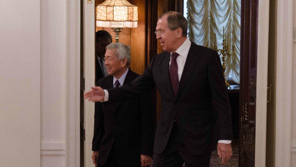 Thumbnail for Lavrov - Perfecto Yasay Jr meeting in Moscow   Встреча С.Лаврова и главы МИД Филиппин