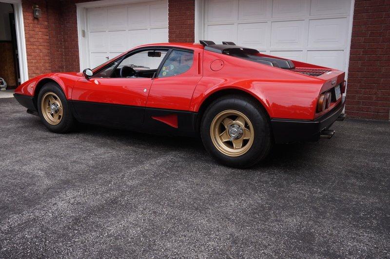 Ferrari 512 BB Carburatori del 1980 tra le 20 Auto classiche Ferrari da collezione messe all'asta online