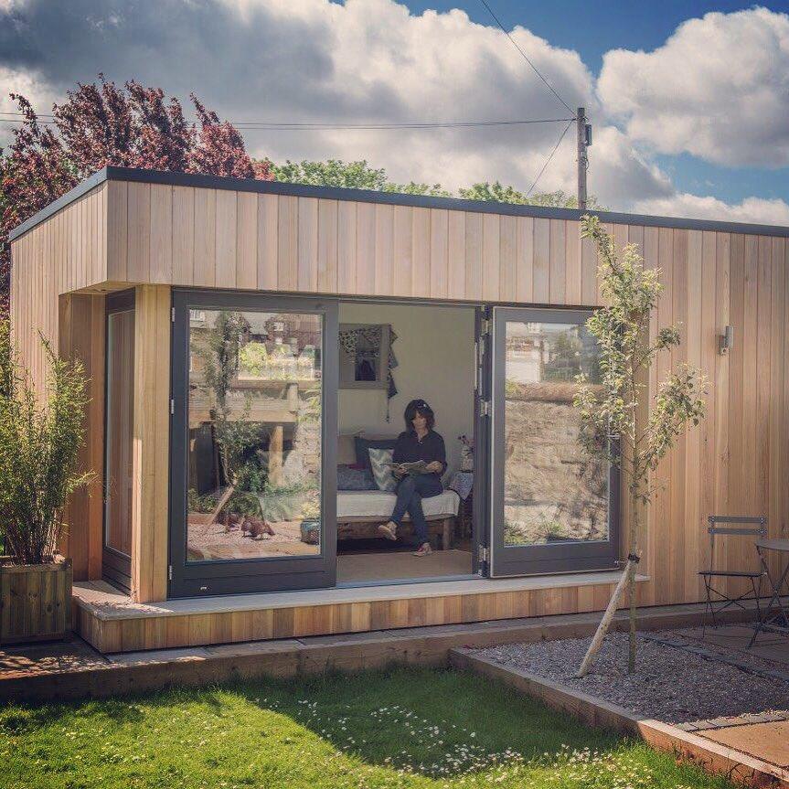 домики для гостей в разных стилях фото