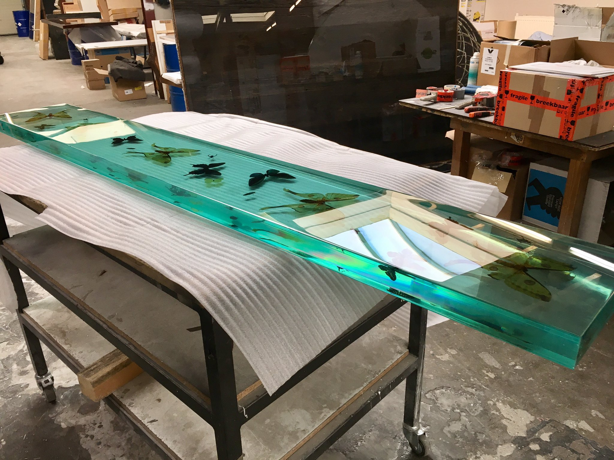 Epoxy Resin Ideas : Michelle wolterink on twitter quot overview resin butterfly