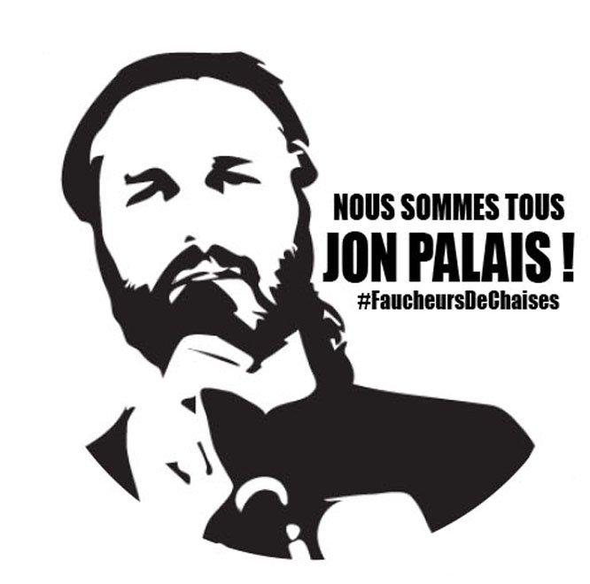 NOUS SOMMES TOUS @JonPalais ! #EvasionFiscale #9janvier #FaucheursDeChaises @bizimugi @AnvCop21<br>http://pic.twitter.com/Yx3z3Mu6mO