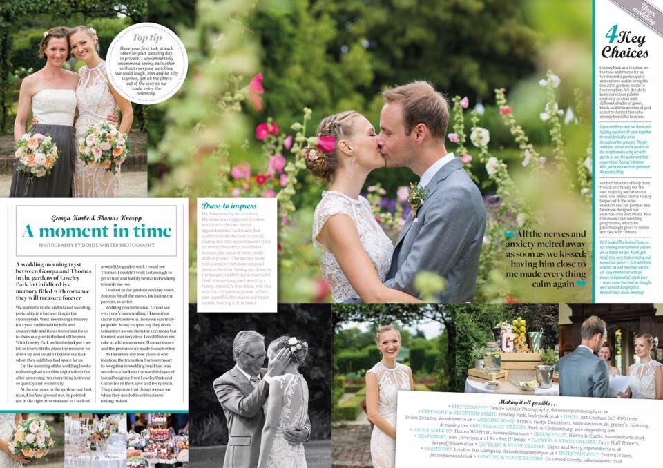 RT @bestweddingtog @LoseleyPark here's the full article #Surreywedding #wedding #weddingphotography  #photography