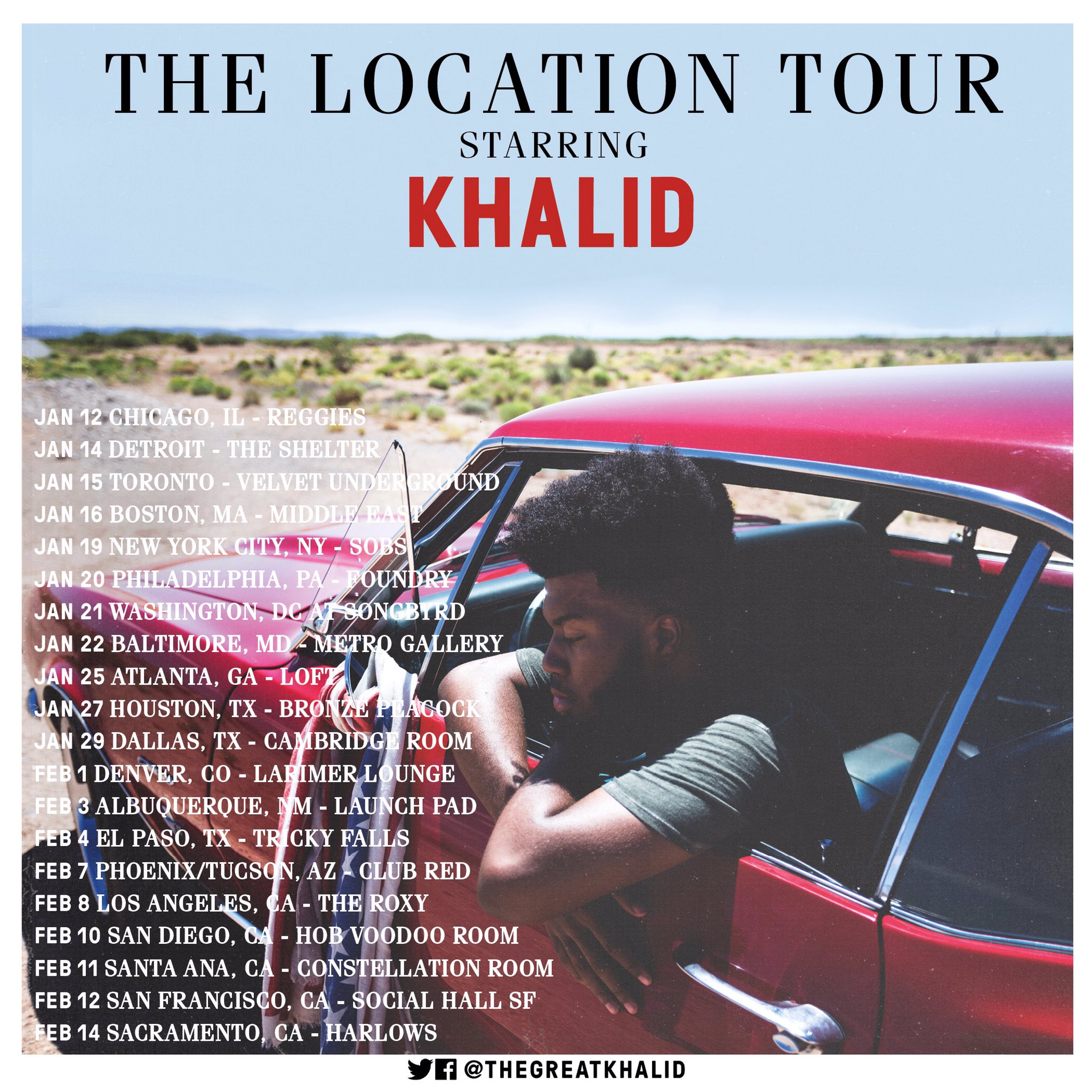 Khalid S The Location Tour In San Francisco Amp Sacramento