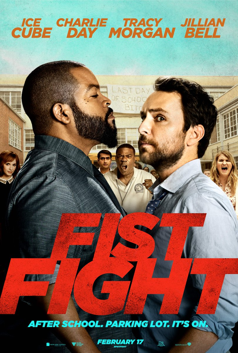 Only Film Media On Twitter New Poster For Fistfight 2017