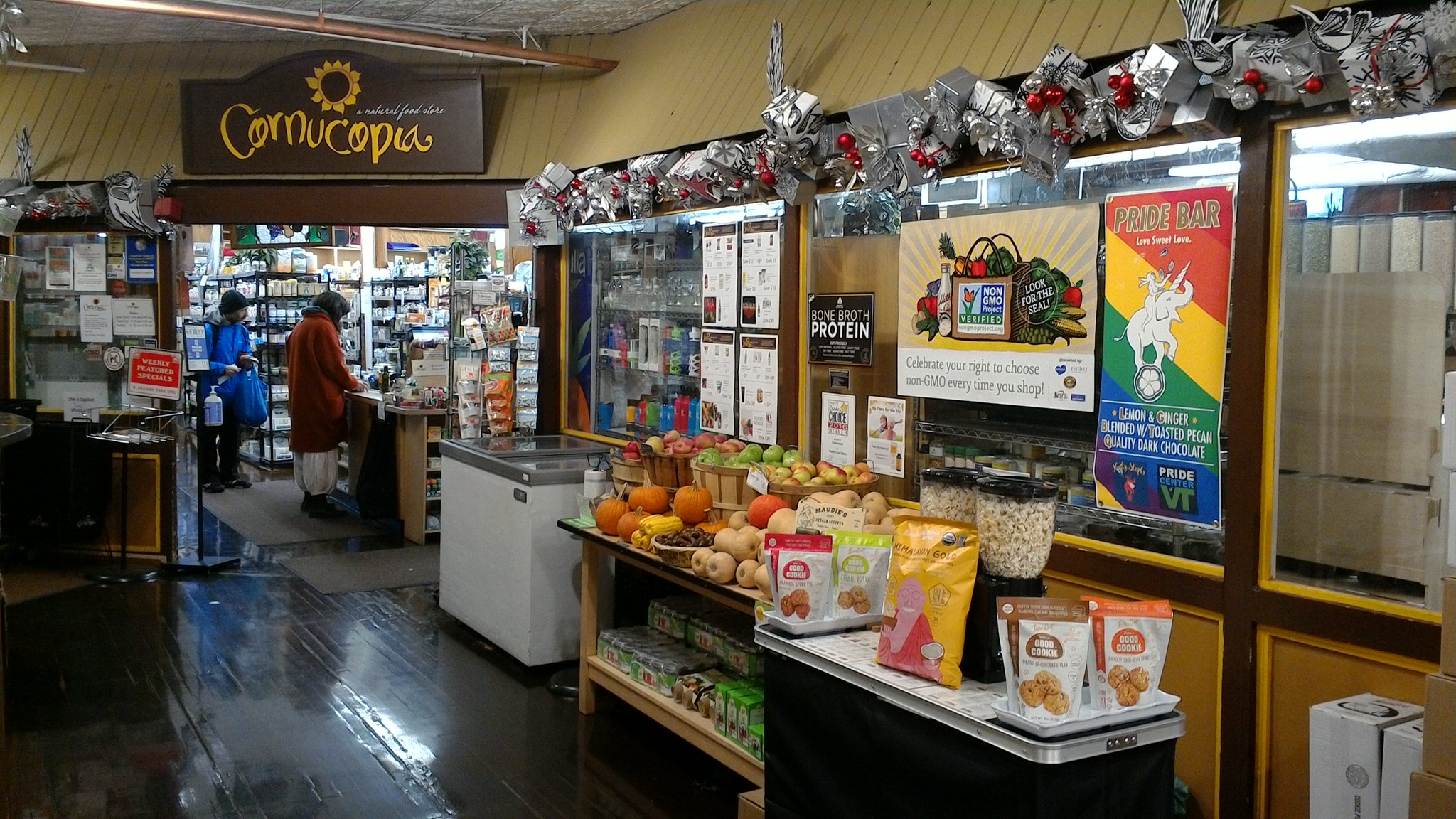 LesserEvil Snacks On Twitter Cornucopia Foods At Thornes Market - Audie's grocery store