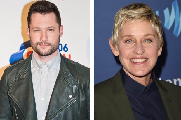 .@calumscott reveals he was told not to look @TheEllenShow in the eye http://bit.ly/2gUmhNy