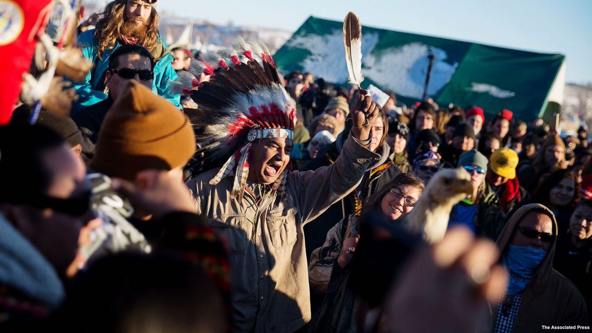 Protests to resume following brief celebration of Army Corps' Dakota Access Pipeline decision