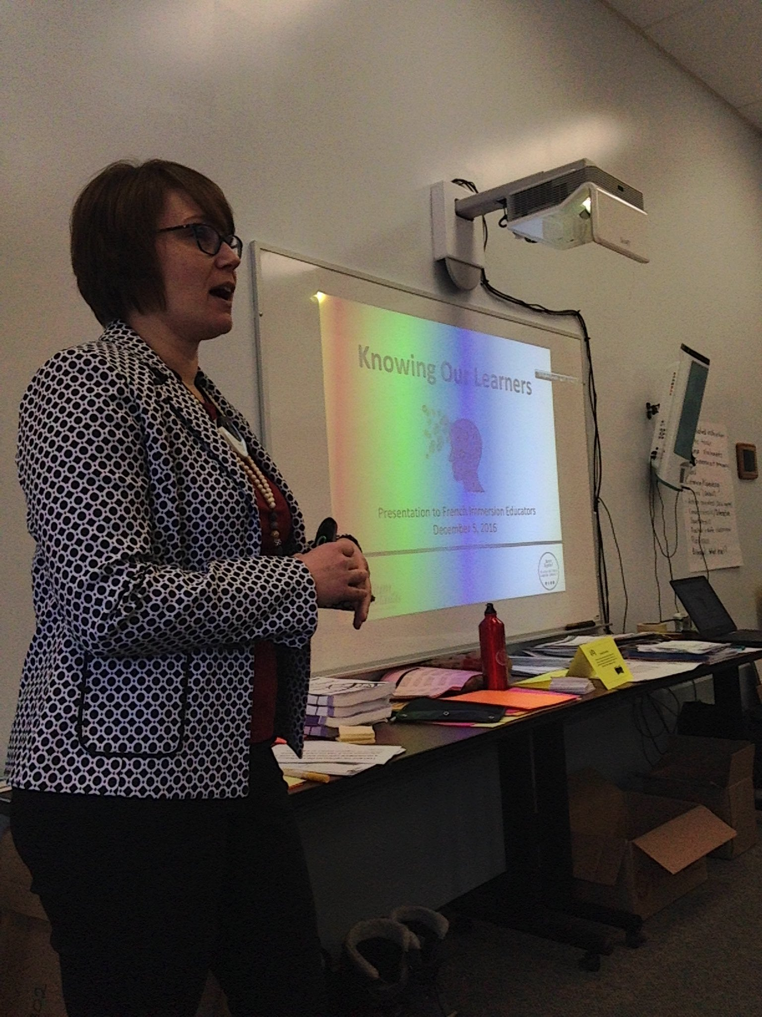 Jennifer Johnson is helping our FI teachers k-12 explore ways to support our growing range of learners in FSL. Merci! #TLDSBLearns https://t.co/UTqujo9QwQ