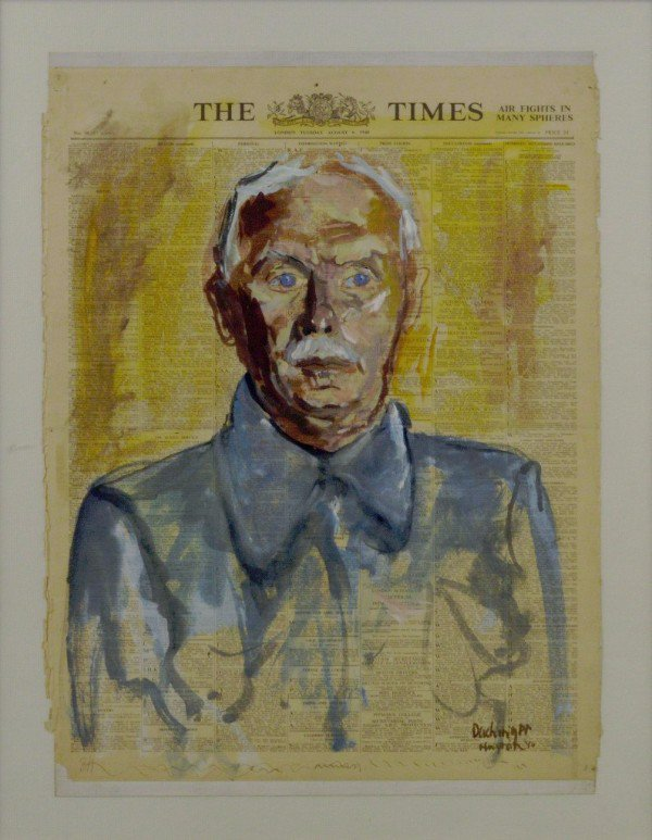 Art Behind Barbed Wire - Ben Uri acquires rare internment portrait painted in 1940 in Liverpool https://t.co/CEjwH5PxNV