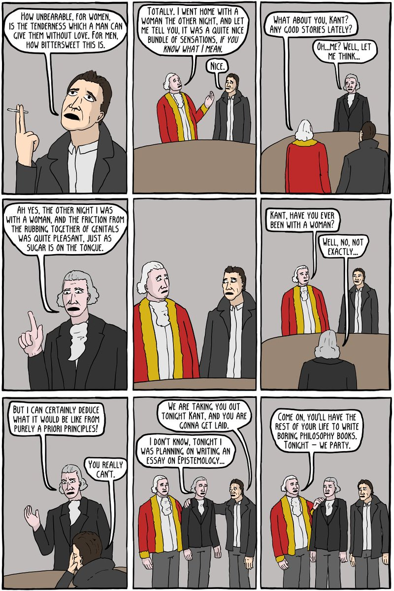 existential comics on immanuel kant the year old  existential comics on immanuel kant the 40 year old virgin t co 1wgklesml3