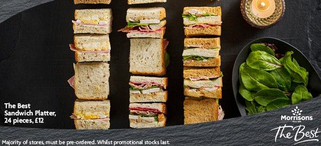 Morrisons On Twitter Pre Order The Best Sandwich Platters At