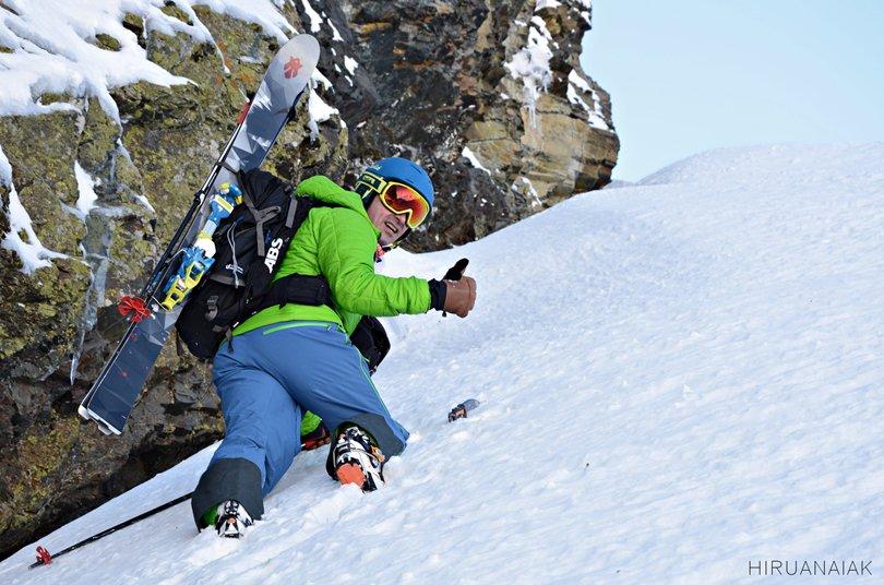 Excelente el nuevo reportaje de @MJXhiruanaiak en el Couloir Nord Rupicapra. Esquí de montaña del bueno!!  https://t.co/mnv6HIFWvM
