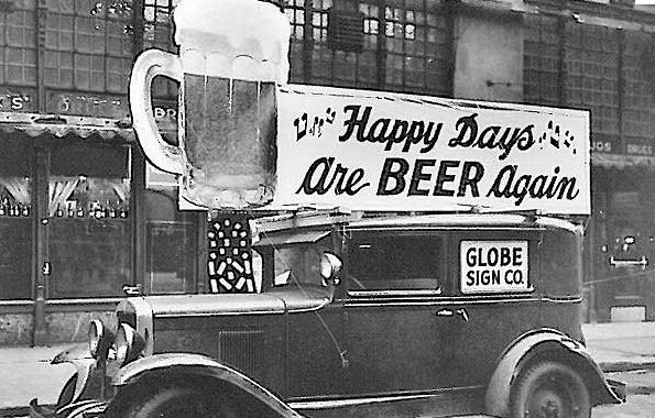 Today is history marks the day when the 21st Amendment was adopted, repealing the 18th Amendment (Prohibition). https://t.co/hj6apDvY80
