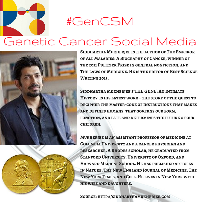 #GenCSM #THEGENE @DrSidMukherjee https://t.co/mTRITza7gd