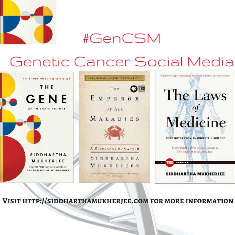 #GenCSM #TheGene @DrSidMukherjee https://t.co/odEhATbTUx