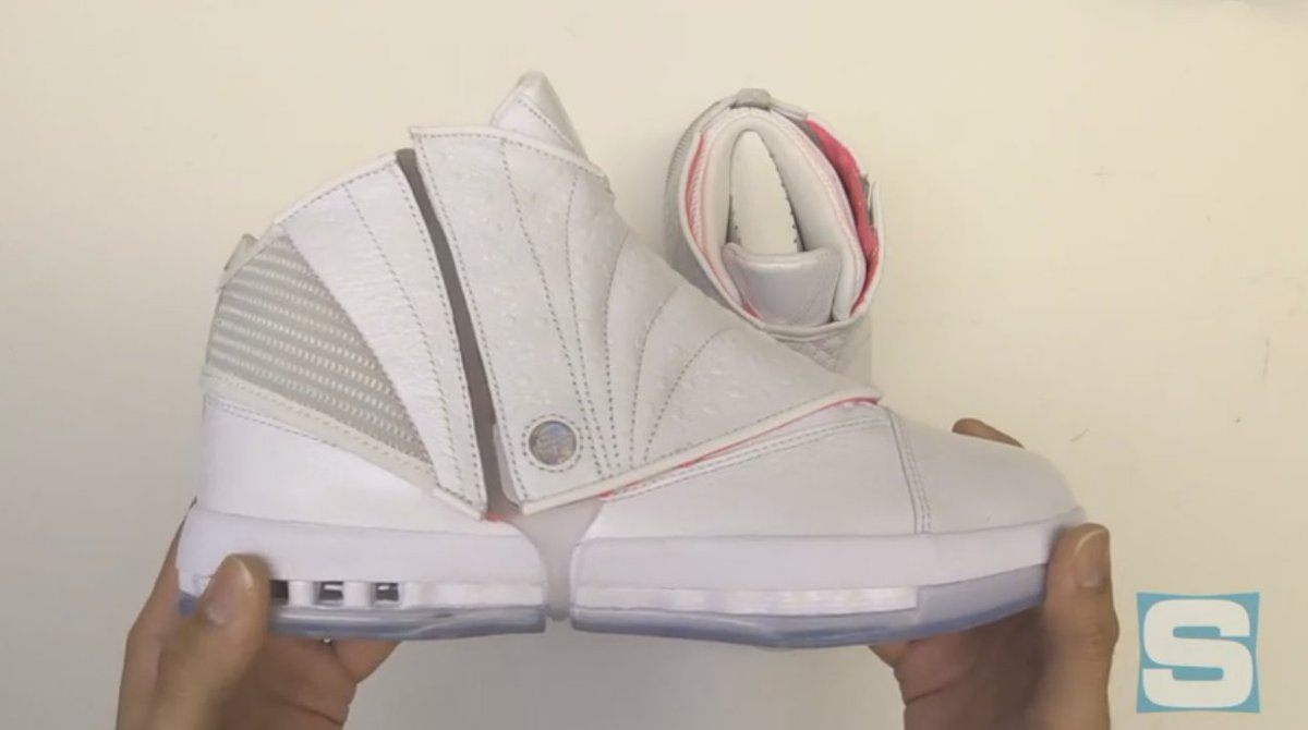 113d9b6b337211 We re unboxing the  solefly x air jordan 16 right now on fb live ...