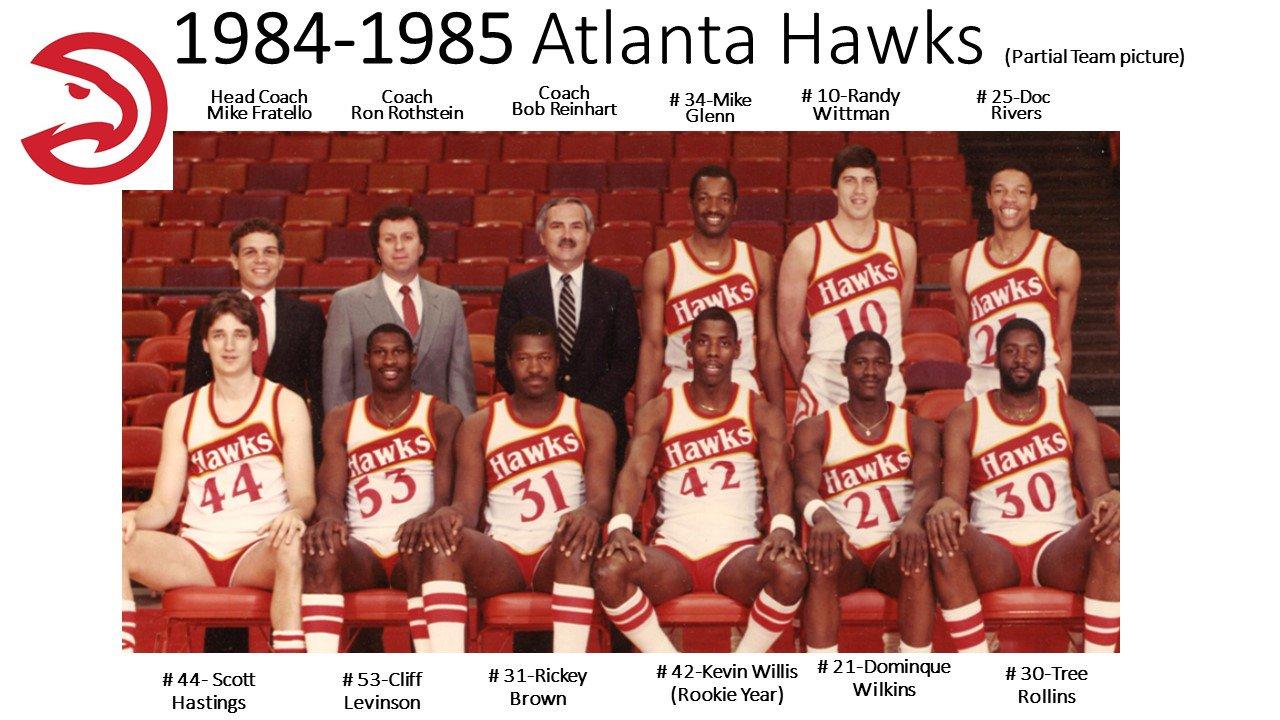 """ATLSportsHallofFame on Twitter """"Coach Bob Reinhart on Hawks 1984"""