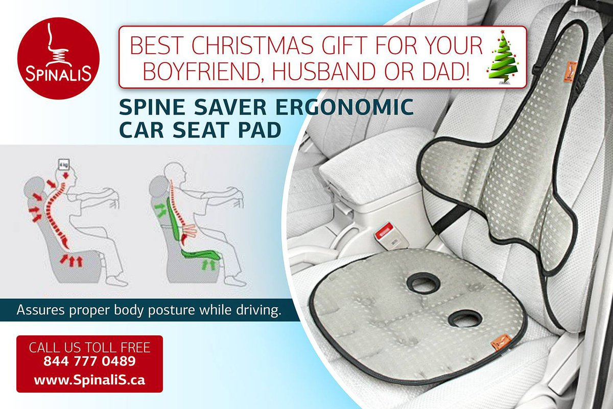 ... Ergonomic Car Seat Pad http://www.spinalis-chairs.ca/blog/this-year-s-best-christmas-gift-idea- ergonomic-car-seat-pad/ …