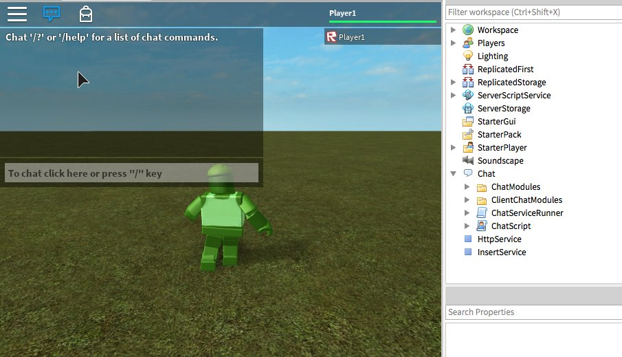 Spotco On Twitter New Roblox Lua Chat Is Live Give It A Look