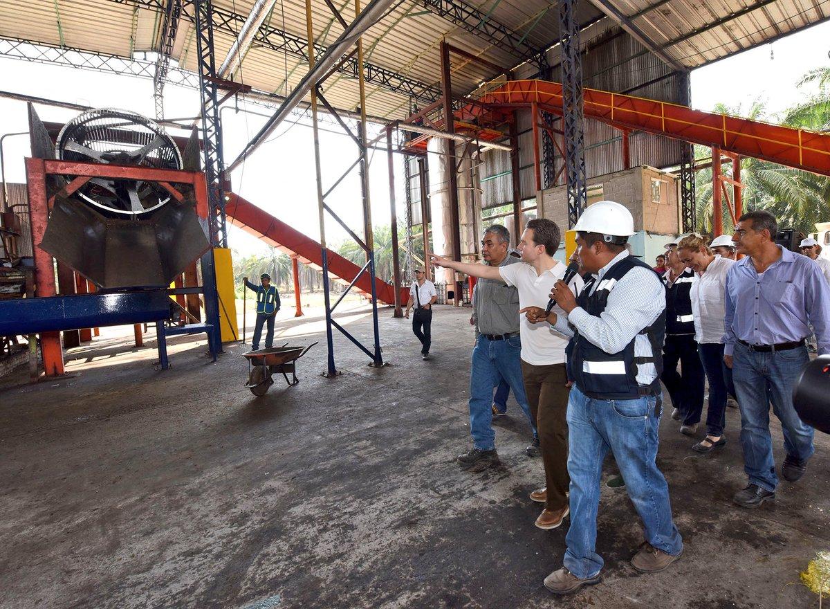 La nueva planta extractora de aceite de palma de for Oficina padron barcelona
