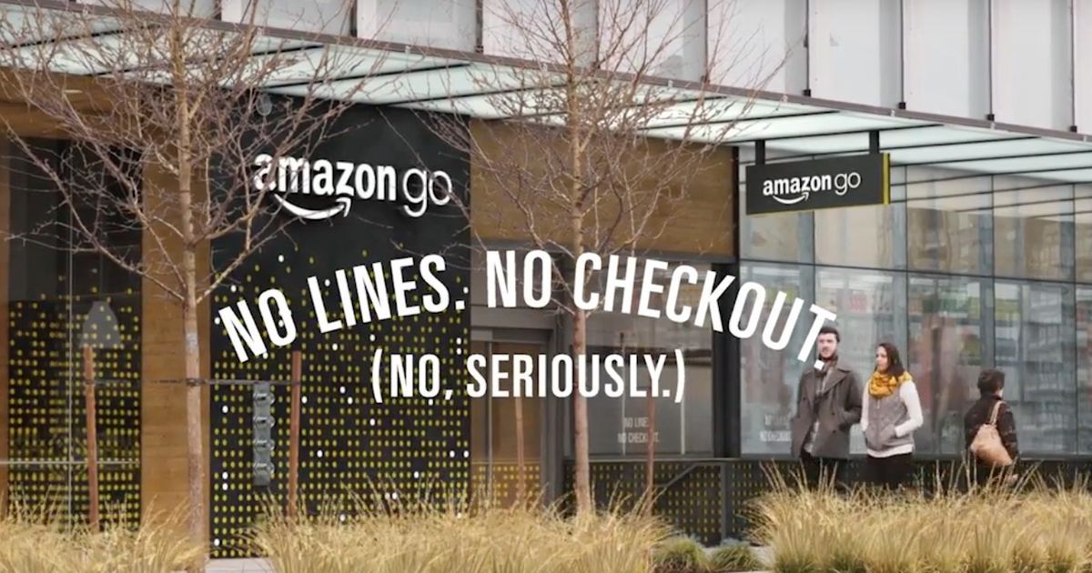 Amazon just opened a grocery store without a checkout line https://t.co/SXWpEyPZrr #innovation https://t.co/imZF7TBn5I
