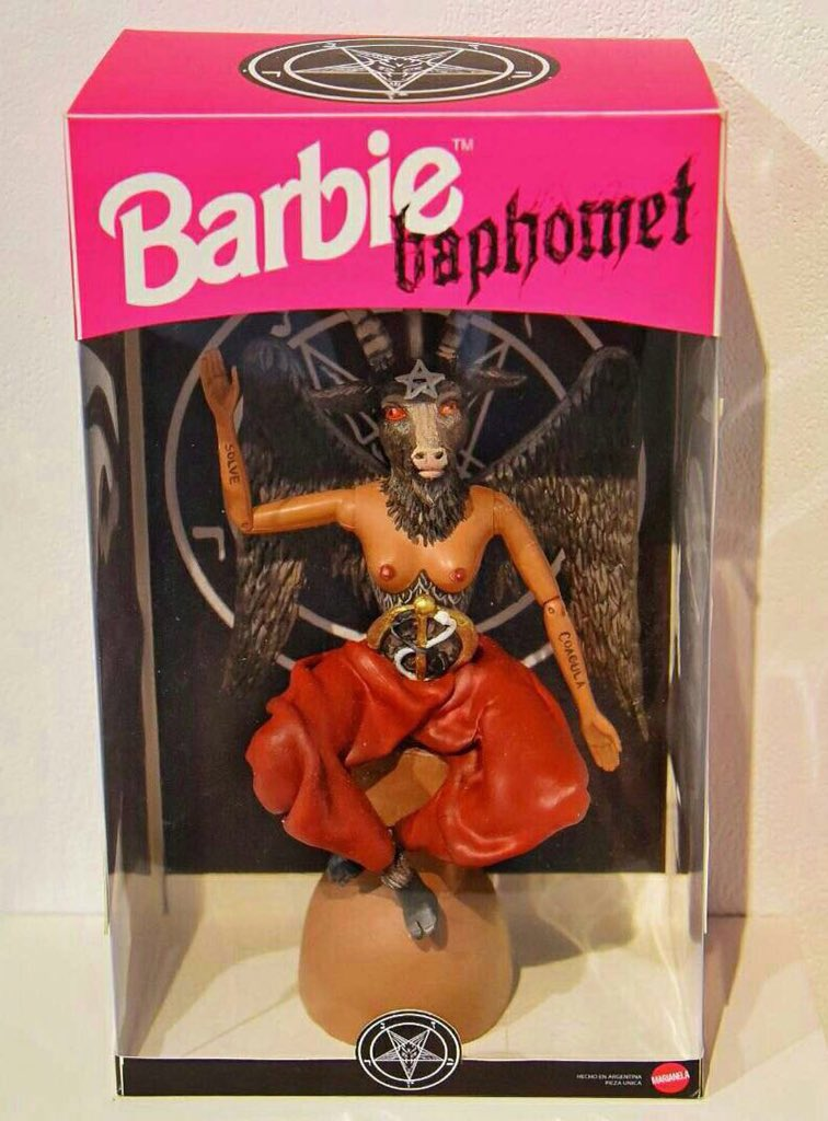 Barbie 666 https://t.co/wtymAmSilc