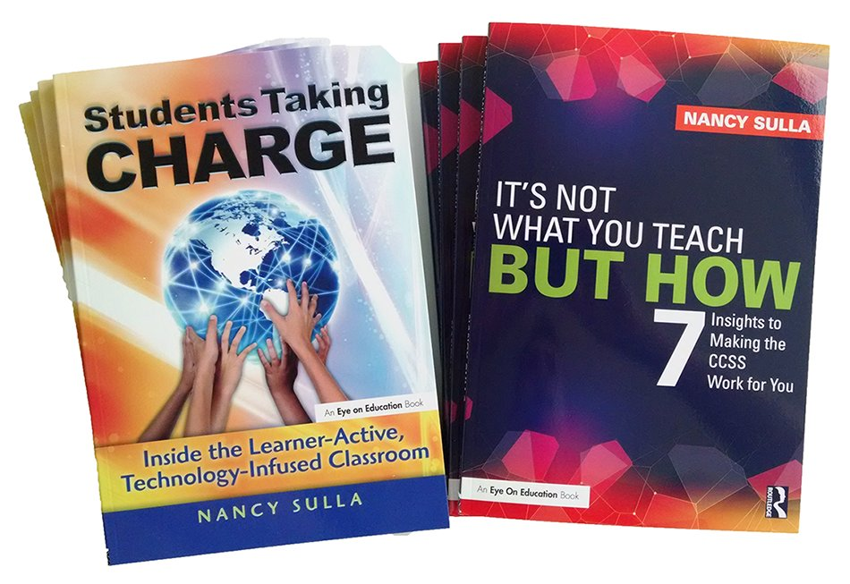 Nancy Sulla here at #masspchat; creator of the Learner-, Technology-Infused Classroom #LATIC; Pres @idecorp; author of https://t.co/OeQukmrZ7t